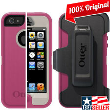 OEM OtterBox Defender Case Military Grade Cover with Holster for iPhone SE/5S/5