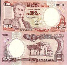 Colombia P426e, 100 Peso, Villa de Leyva (Boyaca), old printing press, UNC