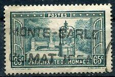 TIMBRE  MONACO N° 124   LA PLACETTE FRANCOIS BOSIO