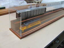 "O Gauge 36"" Two Level Model Train Display Case"