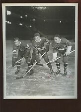 Mac Colville Neil Colville Alex Shibicky Bread Line 8 X 10 Hockey Photo