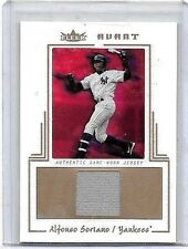 ALFONSO SORIANO 2003 FLEER AVANT GAME USED JERSEY#/50