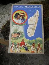 """Ancienne publicité Lion Noir """" les colonies Francaises Madagascar"""""""