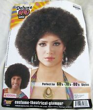 Halloween Costume 1970s African American Pimp Daddy Black History Afro Wig Adult