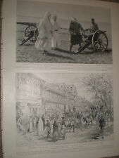 Delhi the Chandni Chowk richest street in India 1903  print ref X