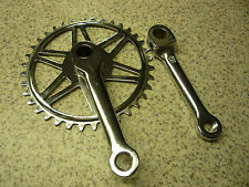 """VINTAGE BICYCLE 36 T CHAINSET 1/8"""" COTTERED New Old Stock"""