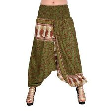 Hippie Harem Trousers Aladdin Afghani Baggy Pants Burning Man Pants Yoga Pants