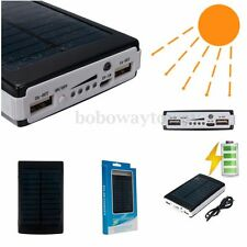 30000mAh 2 USB POWER BANK SOLARE SOLAR BATTERIA Mobile Phone UNIVERSALE CARICA