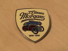 Vintage 75 Years of Morgans (Morgan Cars) Enamel Badge