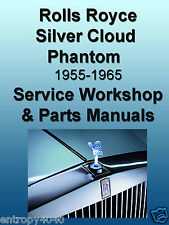 Rolls Royce SILVER CLOUD Bentley PARTS & SERVICE Manual -9- Complete MANUALS CD