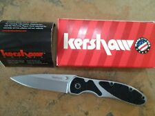 KERSHAW SALVO 2445 FRAMELOCK FINE EDGE KNIFE USA MADE NEW BOX DISCONTINUED