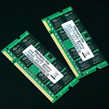 New 4GB 2X 2GB PC2-6400 2Rx8 DDR2 800 MHZ laptop 200PIN memory SO-DIMM 800MHz