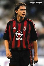 Football Photo FILIPPO INZAGHI AC Milan 2002-03