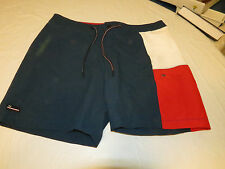 Men's swim trunks board shorts Tommy Hilfiger XXL 2XL 406 MG Blue 7875260 NWT