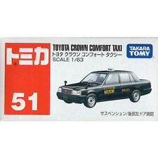 Takara Tomy Tomica #51 Toyota Crown Comfort Taxi 1/63 Diecast Toy Car JAPAN FS