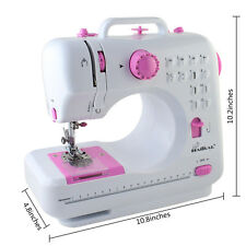 Electric Overlock Sewing Machine Kit 12 Stitch Multifunctional Household Sewing