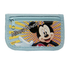 Disney Mickey Mouse TriFold Wallet Light Blue