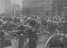 "Polish Army Artillery Legion Warsaw World War 1 Photo 5.5x4"" Reprint1"
