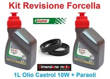 057 - Kit Castrol Fork Oil 10W + Paraoli x Forcella PIAGGIO Beverly 500 dal 2002