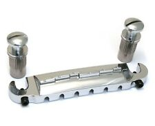 GB-WRAP-C Chrome Wraparound Compensated Guitar Bridge Tailpiece