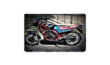 1987 honda vt250 Bike Motorcycle A4 Photo Poster