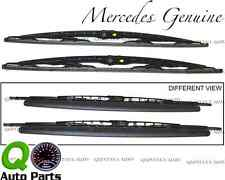 Mercedes W164 ML320 SLK230 Front Windshield Wiper Blade SET 163 820 00 45