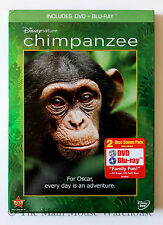 Disney Nature Chimpanzee Documentary DVD & Blu-ray English French Spanish