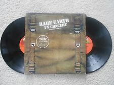 Rare Earth PSYCHEDELIC ROCK LP(RARE EARTH R 534D)Rare Earth In Concert VG+STEREO
