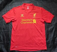 The Reds FC LIVERPOOL Home shirt jersey Warrior 2012-2013 red/ men/adult SIZE L