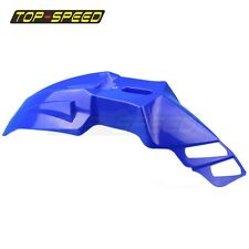 Blue Supermoto Universal Fit Front Fender For Honda BMW Yamaha TENERE WR XT DT