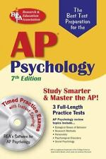 AP Psychology 7th Ed. w/CD-ROM (REA) The Best Test Prep (Advanced Placement (AP