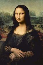 LEONARDO DA VINCI ART POSTER ~ THE MONA LISA 24x36 Fine Masterpiece DaVinci
