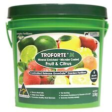 Troforte Fertiliser Fruit & Citrus -3.5kg Langleys Fertilizer Minerals Microbes