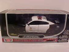 2011 Dodge Charger Interceptor Diecast Police Car 1:24 Motormax 8inch LAPD