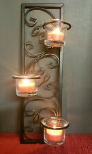 Metal Black Wall sconce Candle Home Decor