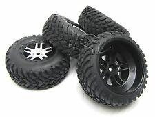 Slayer PRO TIRES/WHEELS, BLACK, (set of 4) 14mm hex tyres rubbers Traxxas 59074