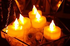 6pcs Flameless Tea Lights, Tealights, Flameless Candles with Remote and Timer