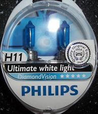 H11 PHILIPS DIAMOND VISION POWER HEADLIGHT CAR BULBS H11 DIAMONDVISION H11 5000k