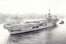 rp14809 - Royal Navy Aircraft Carrier - HMS Indomitable , built 1941 - photo 6x4