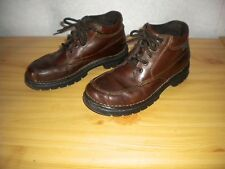Eastland Ankle Hiking Brown Leather Women's Boots Size 7.5 M
