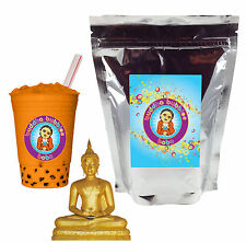 Thai Tea Boba / Bubble Tea Powder by Buddha Bubbles Boba (1 Pound | 453 Grams)