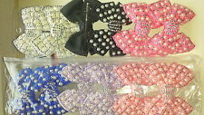 Joblot 12pcs Bow Design Sparkly hairclips hairgrips NEW wholesale lot 18