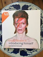 David Bowie is Introducing Himself V&A Limited Edition 16 Post Card Set