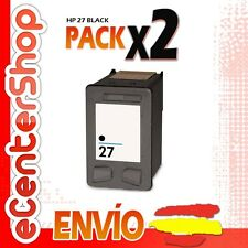 2 Cartuchos Tinta Negra / Negro HP 27XL Reman HP PSC 1210