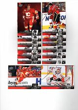 1X CALGARY FLAMES 2010-11 Upper Deck COMPLETE TEAM SET Series 1 & 2 Lots Availab