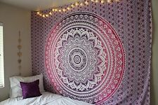 Large Size Ombre Mandala Tapestry Beach Picnic Throw Bedspread Dorm Art Décor