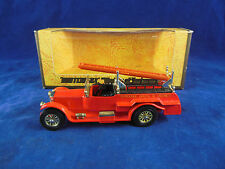 Matchbox Yesteryear Y6-4 1920 Rolls Royce Fire Engine in Bright Red Issue 4