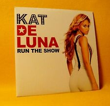 NEW Cardsleeve Single CD Kat DeLuna Ft Busta Rhymes Run The Show 2TR 2008 RnB