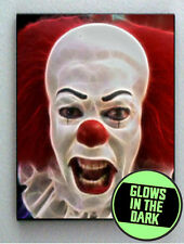 Pennywise IT Scary Creepy Clown Glow In The Dark Framed Cool Art Mini Poster