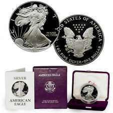 1987-S 1 Oz Proof American Silver Eagle Coin in Original Mint Packaging SKU1293